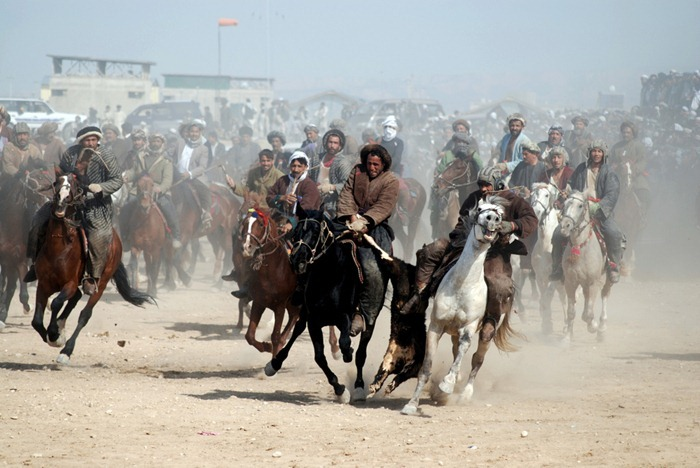 Buzkashi Match In Kabul