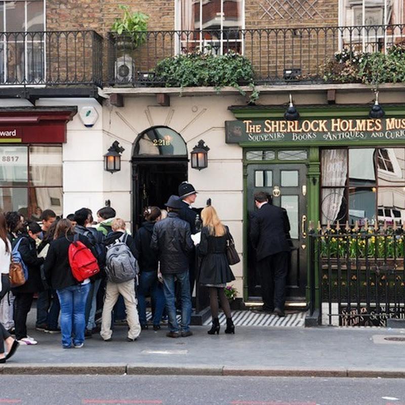 Sherlock Holmes Museum at 221b Baker Street, London