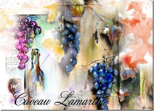 Carte Caveau Lamartine