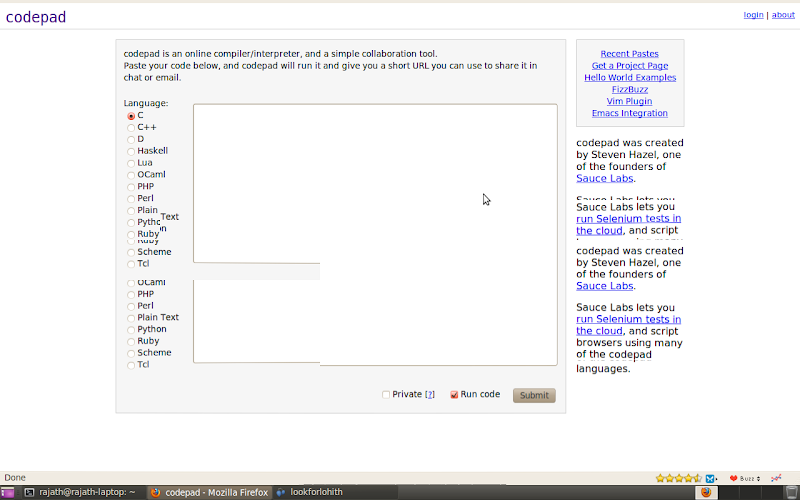 Geek 39 S Stuff Online Compilers