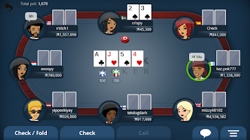 Screenshot of Appeak Poker
