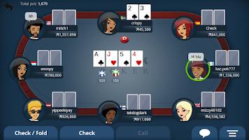 Screenshot of Appeak Poker - Texas Holdem