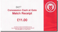 Accies Ticket(reduced)