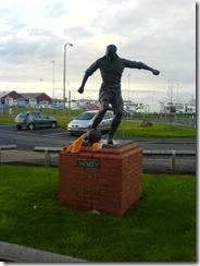 Stan statue @ Blackpool
