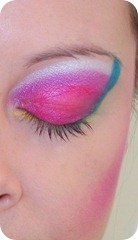 1980&#39;s Make-Up eye close up 2 shut HCMUA