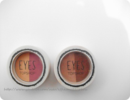 eyeshadows in english teacher and rockey road