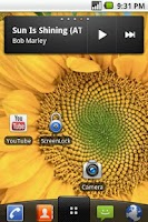 Screenshot of Screen Lock shortcut