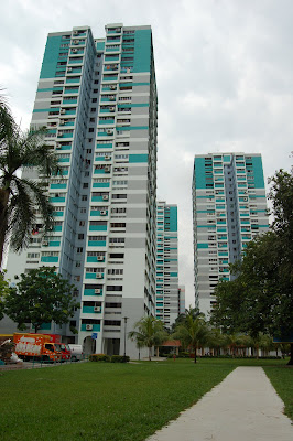 HDB Flats built on reclaimed land