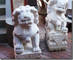 lions chinatown