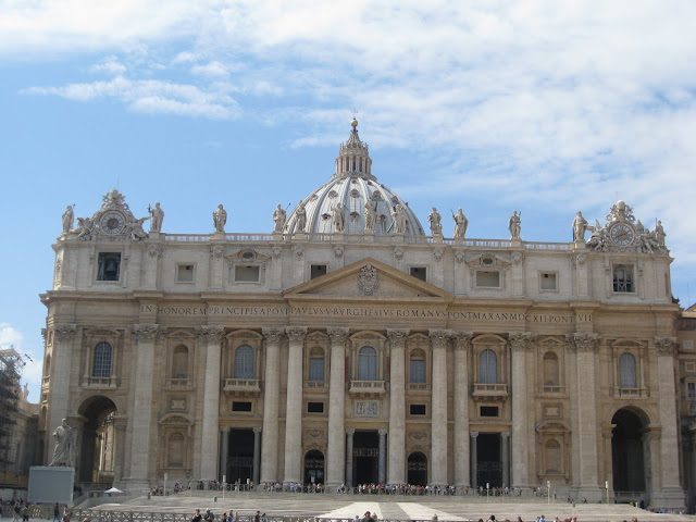 St. Peters Basilica, Vatican City