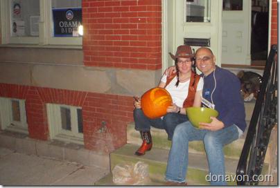 Obama Halloween Pumpkin