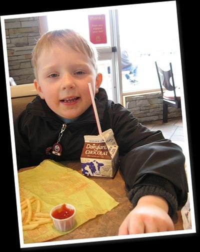 View Adam at McDonalds