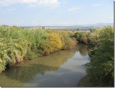 River North of Sea of Galilee