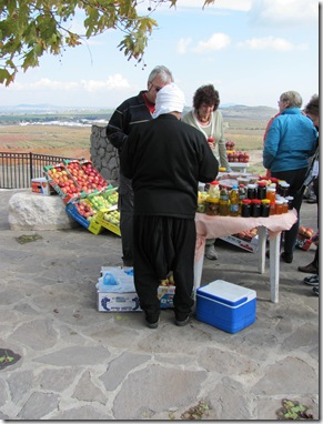 Druze Fruit Vendor 2