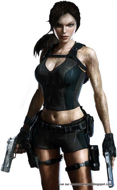 20 heroines de jeux video