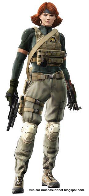 Meryl Silverburgh – Metal Gear Solid 4