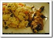 Rohini's H veg Biryani and Mirchi Ka Salan