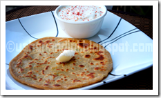 UN's aloo muttar paratha