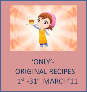 'only'-original recipes