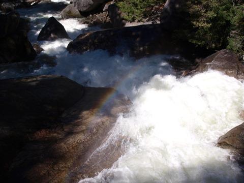 yosemite WF rainbow