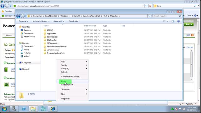 install hyper-v module22