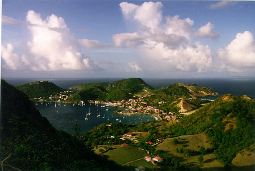 An astonishing panorama of Guadeloupe - the Butterfly Island