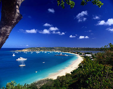 Sandy Ground - one of the most fabulous beaches of Anguilla