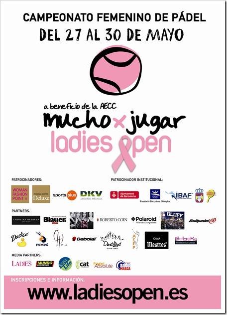 I Ladies Open de Pádel AECC mayo de 2010