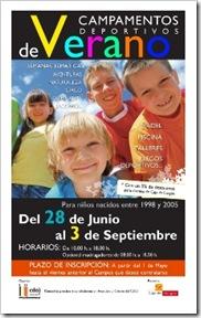 Campamento Verano 2010 Pádel CDO Valladolid