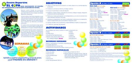 Campamento Verano 2010 Centro Deportivo EL COTO Pagina 2