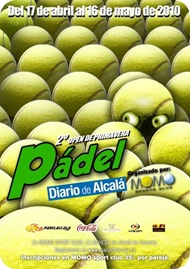 Torneo Pádel Diario de Alcala Abril 2010 Momo Sports Club