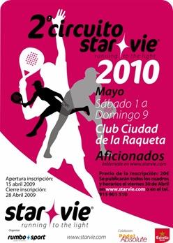 Cartel Star Vie Ciudad de la Raqueta, Aficionados