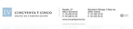 Cincuenta y Cinco Comunicación Logo