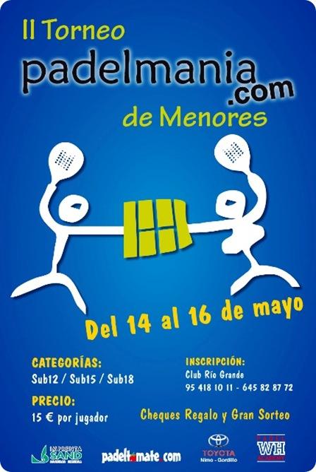 II Torneo PadelMania.com de Menores Mayo 2010