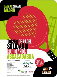 Torneo Padel Solidario ABRACADABRA 2010