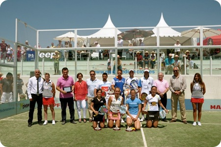 Final Campeonato España de Padel Ciudad de la Raqueta 2010