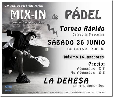 Torneo MIX In de Padel C.D. La Dehesa Pozoblanco