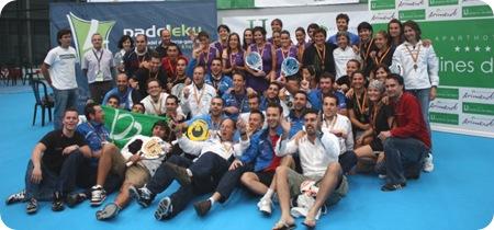 Foto Familia Campeonato España 3ª Categoria por equipos 2010
