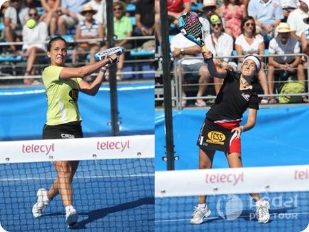 Patty Llaguno e Iciar Montes Campeonas del PPT VALLADOLID 2010
