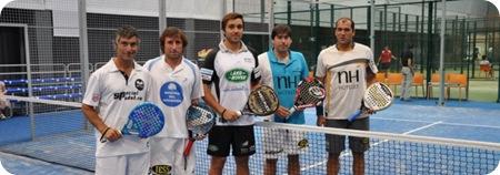 Clinic de Sciorilli con jugadores profesionales en navarra
