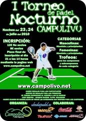 Torneo nocturno CampoOlivo Padel Julio 2010