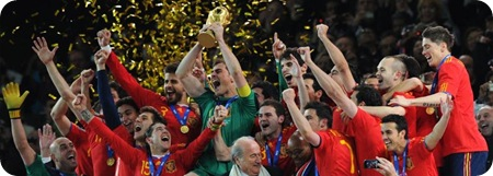 España Campeones Mundo 2010 Futbol Sudafrica 2