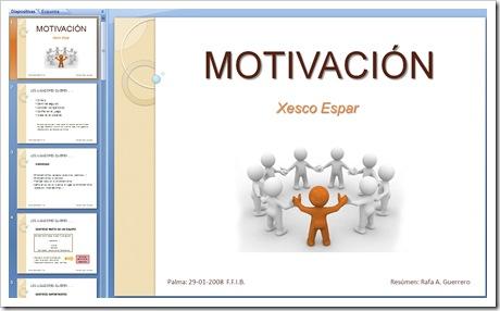 Motivacion Xesco Espar