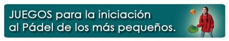 Juegos Padel Niños Banner