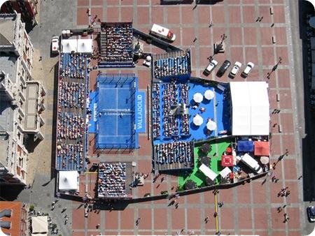 Padel Pro Tour Valladolid vistas desde el cielo