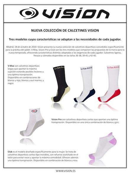 calcetines vision nueva coleccion 2010