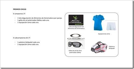 II Torneo SOLEXTREM PADELMERICA Premios 2010_2