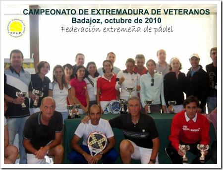 campeonato extremadura veteranos 2010