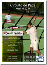 Circuito retospadel madrid torneos 2010
