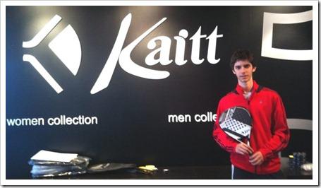 Matias Marina patrocinado por KAITT PADEL 2011
